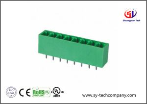 3.50mm Pitch Male Pluggable Terminal Blocks pictures & photos