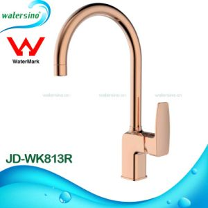 Rose Gold Water Mixer Tap Brass Faucet for Kitchen Sink pictures & photos