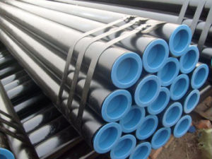 ASTM A333 Gr6 Stpg 370 Sch 120 Carbon Steel Seamless Pipe pictures & photos