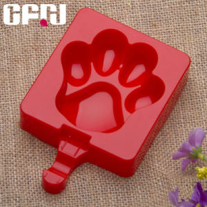 Paw Shaped Silicone Ice Cream Tray Popsicle Ice Pop Molds pictures & photos