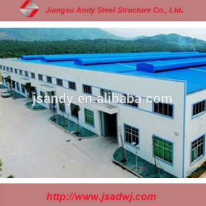 Construction Design Prefabricated Steel Structure Workshop/Factory Building pictures & photos