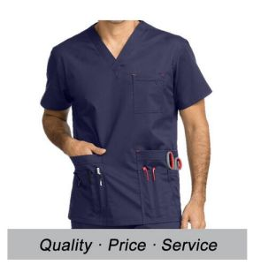 Hospital Nurse Staff Scrub Uniform for Male pictures & photos
