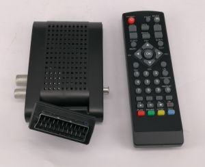 Mini HD DVB-T2 TV Receiver, Supports H. 265 pictures & photos