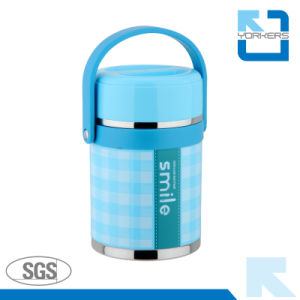 1.9L Stainless Steel Double Wall Vacuum Insulated Lunch Box pictures & photos