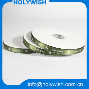 Custom Christmas Printed Grosgrain Band Webbing Polyester Satin Ribbon pictures & photos
