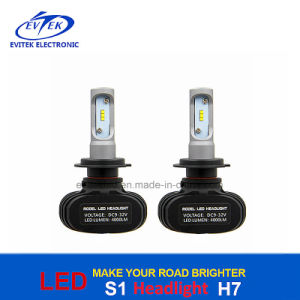 25W 4000lm H7 H4 9005 9006 Bulb S1 Car LED Headlight 6500k pictures & photos