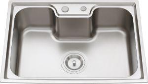 L5610 S. S Pressing Single Bowl Kitchen Sink pictures & photos