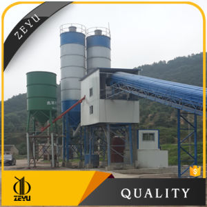 Hzs90 Belt Conveyor Type Concrete Batching Plant and Cement Silos Prices pictures & photos