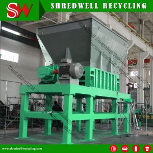 Automatic Double Shaft Industrial Crusher for Waste Metal/Scrap Tire/Car/Metal Drum/Wood/Copper/Aluminum/Paper/ pictures & photos