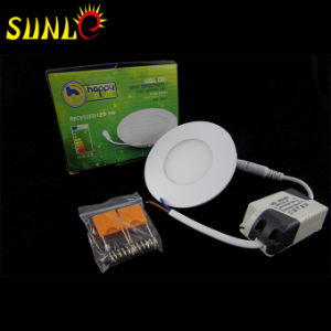 Round Cheap LED Lights High Power LED Panel (SL-MBOO3) pictures & photos