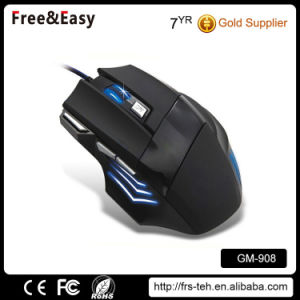 Ergonomic Design Right Hand Big Wired 7D Gaming Mouse with Fire Button pictures & photos