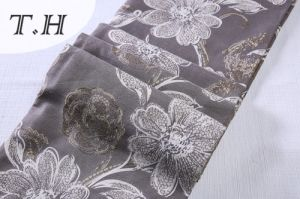 Floral Big Jacquard Fabric Design for Sofa and Furniture pictures & photos
