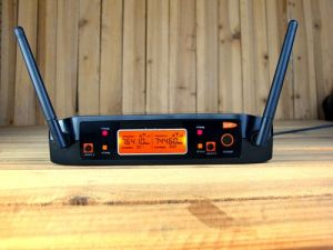 Gymsense Vocal Artist UHF Wireless Clip Karaoke Microphone System pictures & photos