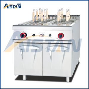 Gh788 Gas Pasta Cooker with Cabinet of Catering Equipment pictures & photos