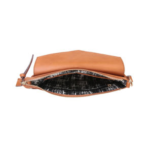 Trendy Zipper Front Fashion Women Brand Messenger Bag (MBNO042103) pictures & photos