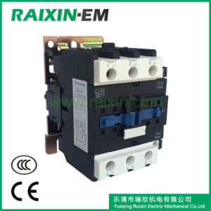 Raixin Cjx2-5011 AC Contactor 3p AC-3 380V 22kw Magnetic Contactor