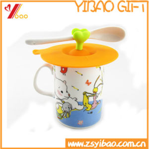 Customized Hot Resistant Silicone Cup Lid for Gifts pictures & photos