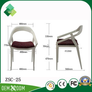 Hot Sale Hotel Dining Chairs Plastic Chair for Sale (ZSC-25) pictures & photos