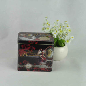 Rectangular Shape Music Tin Box