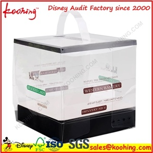 Clear Custom Printing Plastic Cosmetic Box pictures & photos