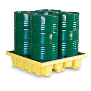 Westco Four Drum Containment Pallet