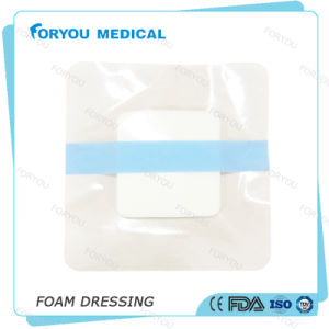 Foryou Medical Diabetes Self-Adhesion Foam Chronic  Wound  Dressing Sterile Advanced PU Foam Dressing FDA pictures & photos