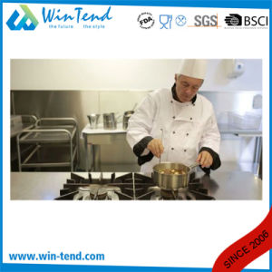 04 Style Stainless Steel Sanded Heat Conduction Impact Bonding Bottom Steam Food Stockpot pictures & photos