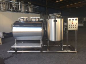 Cleaning in Place Equipment CIP Cleaning Machine 1000L Ss316 cleaning Tank pictures & photos
