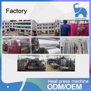 1.7m Rotary Heat Transfer Roll to Roll Heat Press Calandra Sublimation Machine pictures & photos