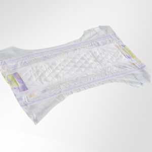 Disposable OEM Manufacturer Breathable Cloth-Like Back Sheet Incontinence Baby Diaper pictures & photos