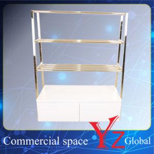 Display Shelf (YZ161804) Display Rack Stainless Steel Display Stand Display Case Display Hanger Rack Exhibition Rack Promotion Rack