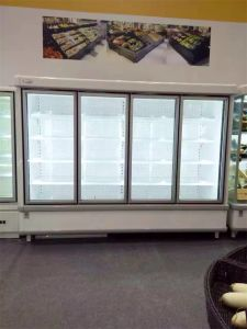4 Door Commercial Refrigerator/Refrigerator Freezer for Beverage Showcase pictures & photos