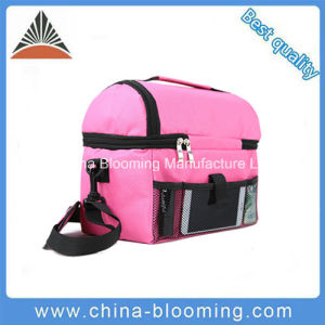Adult Shoulder Thermal Lunch Insulated Picnic Cooler Tote Bag pictures & photos