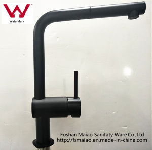 Watermark Black 304 Stainless Steel Pull-out Kitchen Sink Mixer (ST51109B) pictures & photos