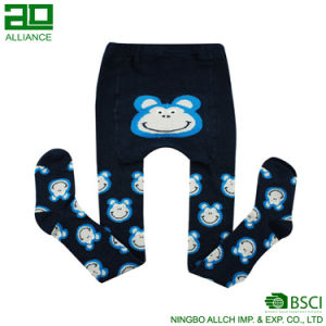 Comfortable Cute Cartoon Cotton Baby Tights pictures & photos
