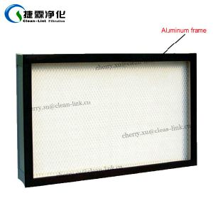 Hot Sale H14 Mini Pleat HEPA Filter for Laminar Flow Cabinet, Laboratory pictures & photos