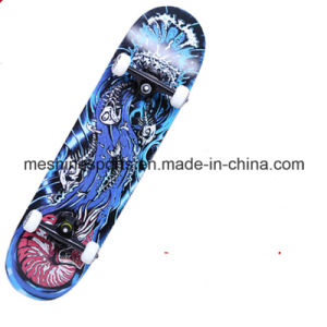 Logo Printed Street Cruiser Maple Wood Skateboard Deck pictures & photos