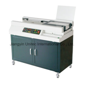 Hot New Products Perfect Gluing Book Binding Machine W5500 pictures & photos