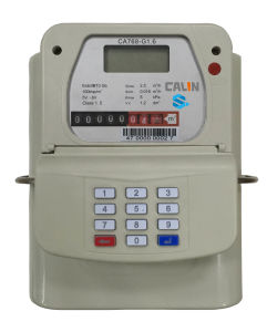 Sts Keypad Prepaid Gas Meter pictures & photos