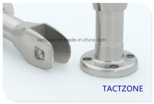 Factory Directly Zinc Alloy Toilet Partition Cubicle Hardware Support Leg pictures & photos