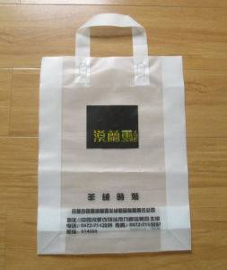 Custom Printed Plastic Shopping Bag for Stores Used pictures & photos