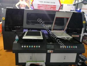 Fd680 Automatic Printer with White Ink for Tshirts Direct Printing pictures & photos