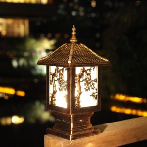 Unique Design Haochang Soalr Garden Light with Variety Pattern pictures & photos