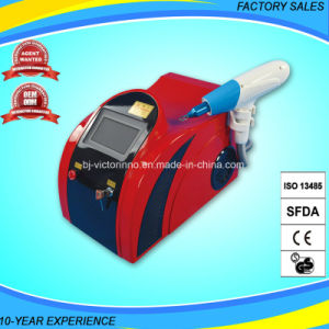 Good Quality Ce Approved ND YAG Laser Tattoo Equipment pictures & photos