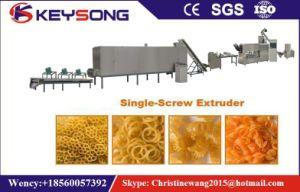 Single Screw Pasta Macaroni Puff Snack Food Extruder pictures & photos
