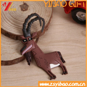 Custom High Quality 3D Animal Shaped PVC Fridge Magnets pictures & photos