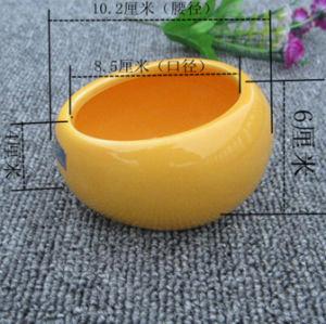 Pet Ceramic Food Water Paw Print Pet Dog Puppy Feeding Dish Bowl pictures & photos