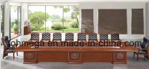Luxury Wood Office Furniture Conference Table Meeting Desk (FOH-BT8B080) pictures & photos