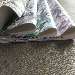 PU Synethetic Leather Fabric for Shoes pictures & photos