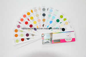 Professional Standard Wall Paint Fandeck in Circle Shape pictures & photos